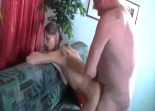Passionate, sweaty incest love-making