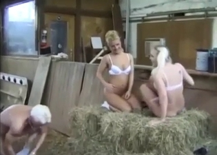 Beautiful incest in a barn, enjoy
