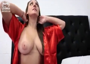 She blows him like a slut in POV