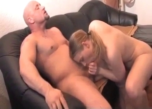 Fantastic sex featuring a blonde beauty