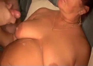 Two fat people fucking, mom/son sex