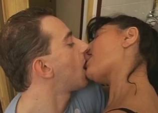 Intense experience with busty mommy