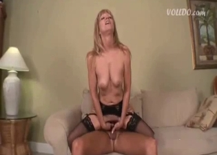 Extreme cock-riding in an incest clip