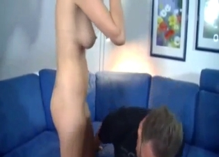 Amazing action with a dark-haired hoe