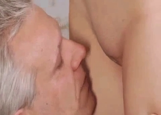 Daddy eating his princess' pussy