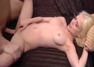 Angelic blonde destroyed by daddy