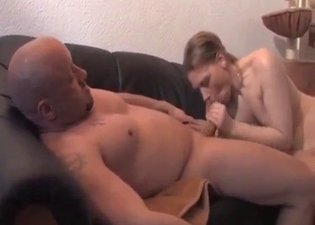 Doggy style pounding in an incest clip