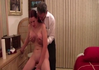 Dude watches his sis ride a Sybian