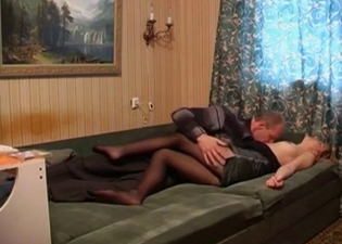 Hidden cam incest video from Russia
