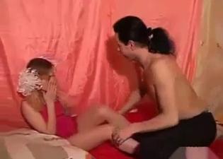 Schoolgirl enjoying this seduction