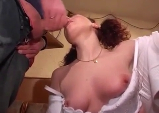 Mature redhead fucking her ugly brother
