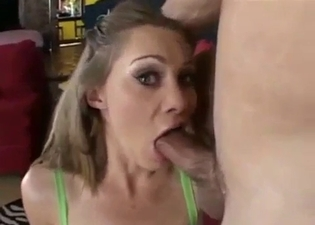 Spanked and face-fucked by big bro