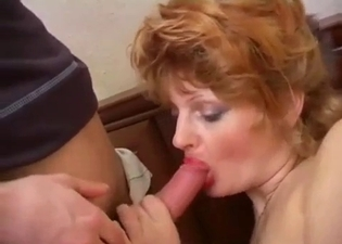 Moist pussy mommy seducing her son